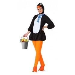 Disfraz de Pinguina ,Animales.Talla M-L