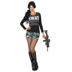 Disfraz de Policía Swat,chico.Talla XS-S