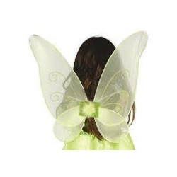 Alas mariposa o Luciérnaga,Verdes.46cm