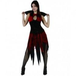 Disfraz de Vampiresa.Talla M-L