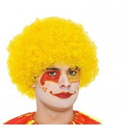 Peluca Amarilla.Payaso de rizos