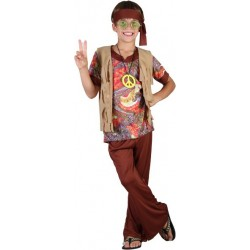 Disfraz de Hippie.Talla 7-9