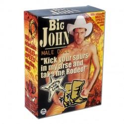 Muñeco Hinchable Masculino Big John