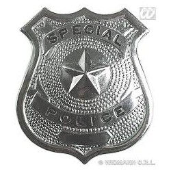 Placas de Policia.metálizada