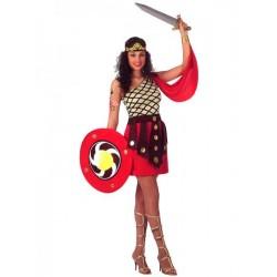 Disfraz de Gladiadora para mujer ,talla XS