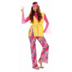 Disfraz de Hippie chica.Talla unica