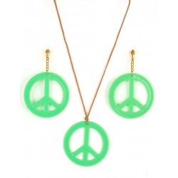 Set de Hippie,Verde