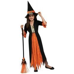 Disfraz Bruja Gótica,Talla 5-7años