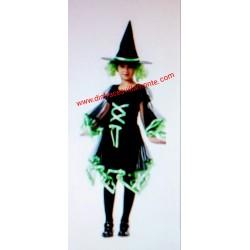 Disfraz de Bruja Halloween  T-5-6