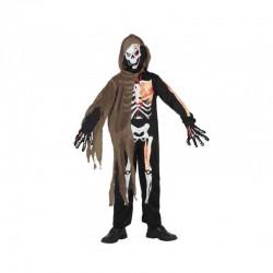 Disfraz de Esqueleto-Zombi,talla 3-4 años-Halloween