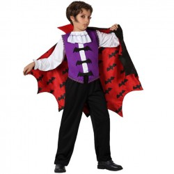 Disfraz de Vampiro o Dracula.de Lujo para niños .Talla 10-12