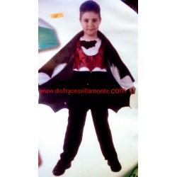 Disfraz Vampiro murciélago,talla 10-12-Halloween