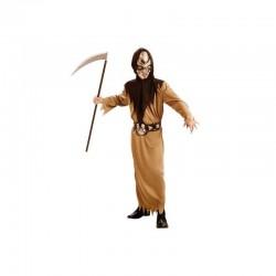 Disfraz Guerrero Calavera,talla 10-12-Halloween