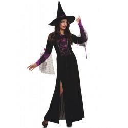 Disfraz Bruja Purpura,talla M-L-Halloween