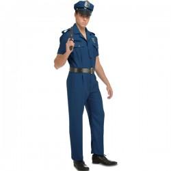 Disfraz Policía,talla S