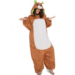 Disfraz Tigre o Tigresa...Big Eyes,Animales tipo pijama Unisex...talla S