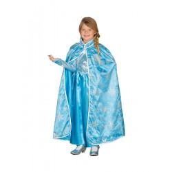 Capa de Frozen,princesa del hielo ,talla 5-9 años