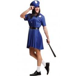 Disfraz Mujer Policía para Hombre..Despedidas