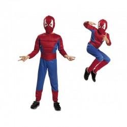 Disfraz Spiderman,Super héroe..talla 5-6
