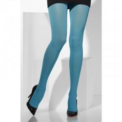 Medias-Panty Azul F. Talla XL