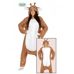 Disfraz pijama Jirafa,Unisex Animales talla L