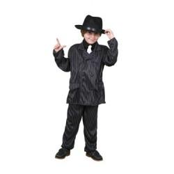 Disfraz Ganster-Gangster,Años 20..talla 7-9