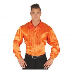 Camisa Disco Naranja,talla M