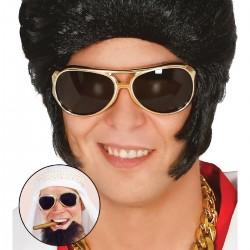Gafas Rock o Elvis,doradas