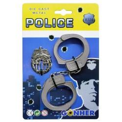 Esposas de Policia ,metal