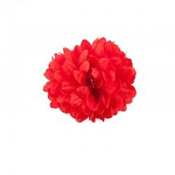 Flor-Clavel doble rojo.. Sevillana-Cordobesa-Andaluza..