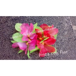 Flor Hawaiana..con pinza