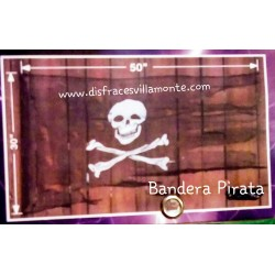 Bandera Pirata.-