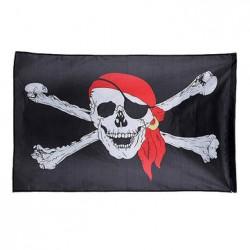 Bandera Pirata de tela