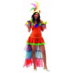 Disfraz de Brasileña o Rumbera. Talla 44
