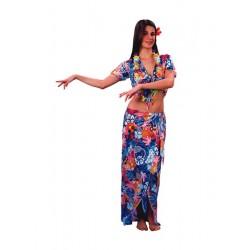 Disfraz de Hawaiana-as Talla Adulto