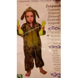 Disfraz Leopardo,Animales talla 5-6