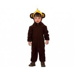Disfraz de Mono,Animales  Infantil talla 7-9
