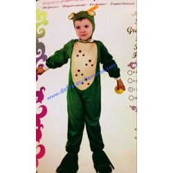 Disfraz Rana o Sapo,Animales..talla 7-9 años