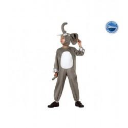 Disfraz Elefante,Animales unisex..talla 7-9