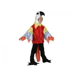 Disfraz Loro-Pájaro,Animales talla 5-6