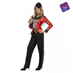 Disfraz Maestra de Ceremonias-Circo-Músico,talla M-L
