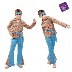 Disfraz Hippie Psicodelico 5-6 años