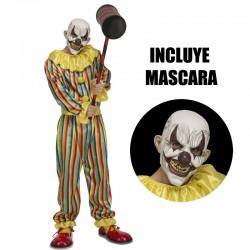 Disfraz Payaso diabólico-Prank Clown,talla S..Halloween