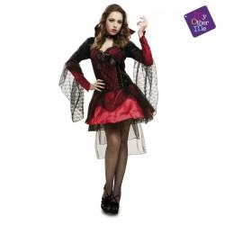Disfraz Vampiresa Oscura,talla S ..Halloween