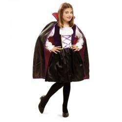 Disfraz Vampiresa o Vampira  Reina.talla 7-9..Halloween