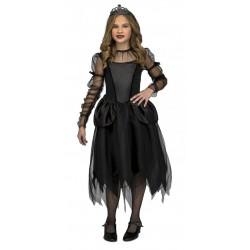 Disfraz Damisela Gótica,talla  10-12 años