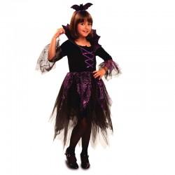 Disfraz Hada Murciélago,talla 10-12...Halloween