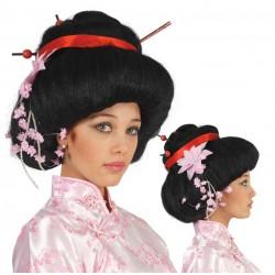 Peluca de Geisha lux