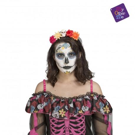 Diadema Catrina-Día de los muertos-Halloween