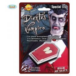 Colmillos-Dientes  de vampiro-Halloween